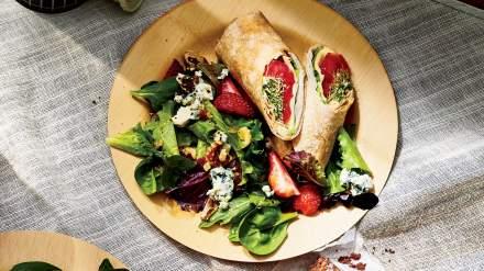 turkey-havarti-wraps-picnic-recipes